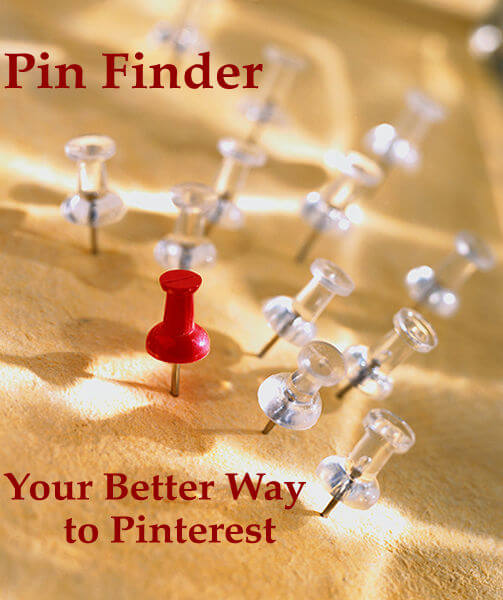 Pin Finder - Your Better Way to Pinterest