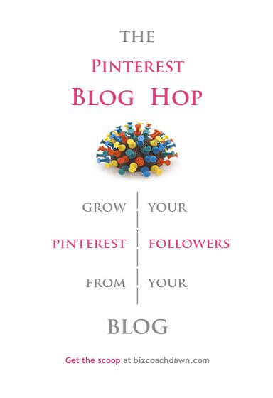 The Pinterest Blog Hop - Grow your Pinterest followers from your blog