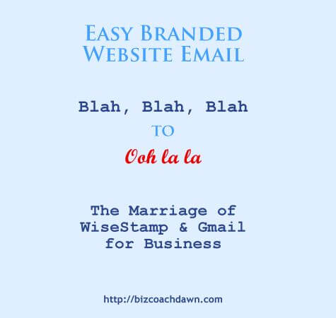 Easy Branded Website Email