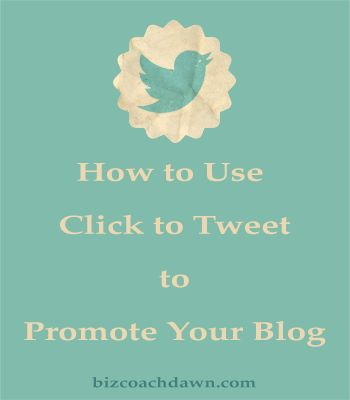 How to use Click to Tweet for Blog Promotion