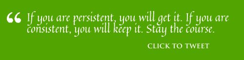 If you are persistent ...