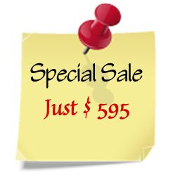 Special sale - get it while it lasts!